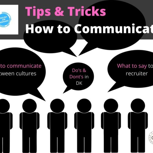 Tips & Tricks; How to Communicate